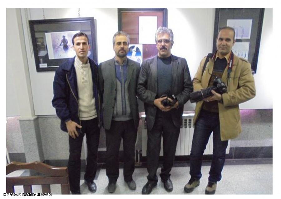نمایشگاه جمعی هنرمندان هنرهای تجسمی و عکاسی