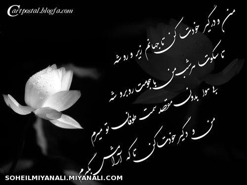 شعرهای مولانا برای پروفایل شعر - آلبوم شعر های با معنی - گالری تصاویر *میر سهیل خواجه ...