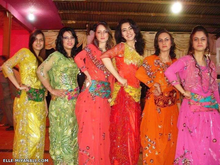 عکس+دختر+کرد+با+لباس+کردی