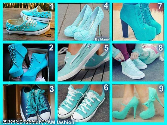 اینم کفش دخترونه ... کدومش خوشگله