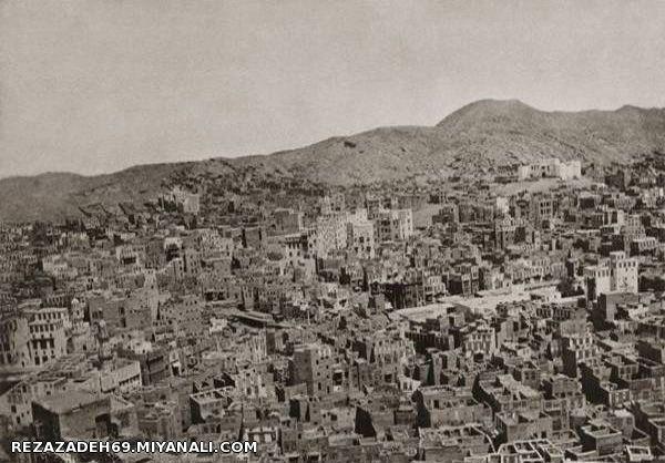 نمایی از شهر مکه مکرمه